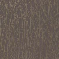 Grasses Wallpaper - Zinc/Pewter