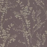 Salvia Wallpaper - Zinc/Pewter