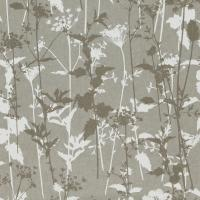Nettles Wallpaper - Steel/White/Pewter