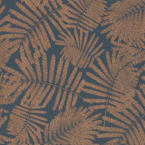 Harlequin Callista Wallpapers Espinillo Wallpaper - Indigo/Copper - 111393