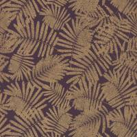 Espinillo Wallpaper - Aubergine/Gold