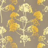 Angeliki Wallpaper - Mimosa/Antique Gold