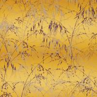 Meadow Grass Wallpaper - Mimosa/Mulberry