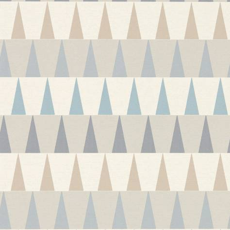 Harlequin Tresillo Wallpapers Azul Wallpaper - Nordic Blue/Sky/Smoke - 111442