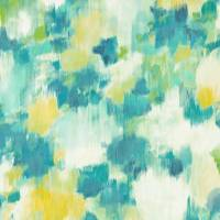 Exuberance Wallpaper - Lemon/Navy