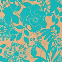 Coquette Wallpaper - Turquoise