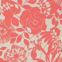 Coquette Wallpaper - Coral