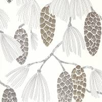 Epitome Wallpaper - Gilver/Silver/Chalk