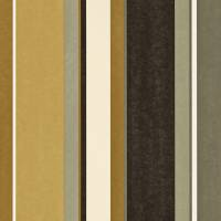 Bella Stripe Wallpaper - Ochre/Gold/Ebony