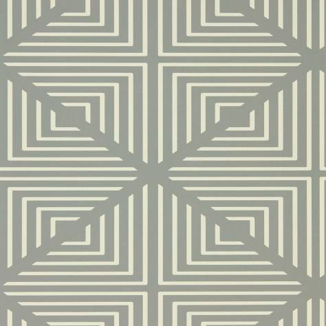 Harlequin Momentum Wallpapers Vol. 4 Radial Wallpaper - Slate/Chalk - 111552