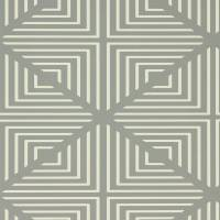 Radial Wallpaper - Slate/Chalk