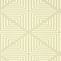 Radial Wallpaper - Linen/Chalk