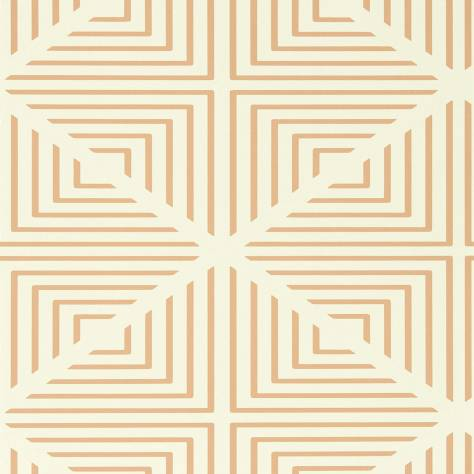 Harlequin Momentum Wallpapers Vol. 4 Radial Wallpaper - Pearl/Paprika - 111556