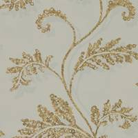 Lucero Wallpaper - Oyster/Rich Gold
