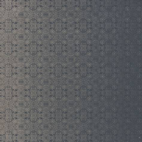 Harlequin Lucero Wallpapers Eminence Wallpaper - Silver/Ink - 111742