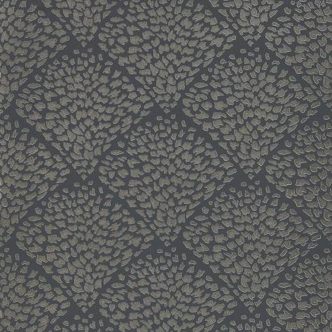 Harlequin Lucero Wallpapers Charm Wallpaper - Platinum/Shadow - 111751