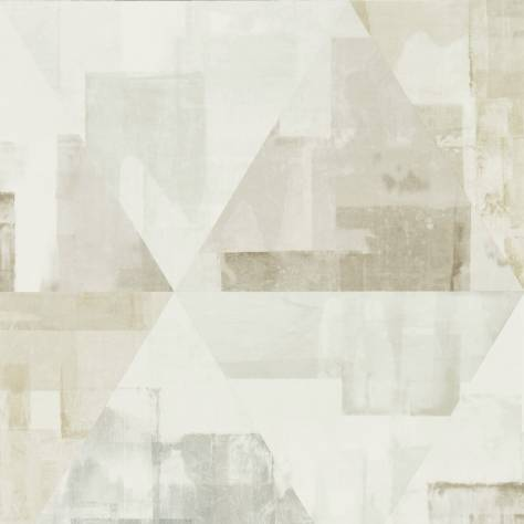 Harlequin Entity Wallpaper Geodesic Wallpaper - Taupe/Stone - 111699