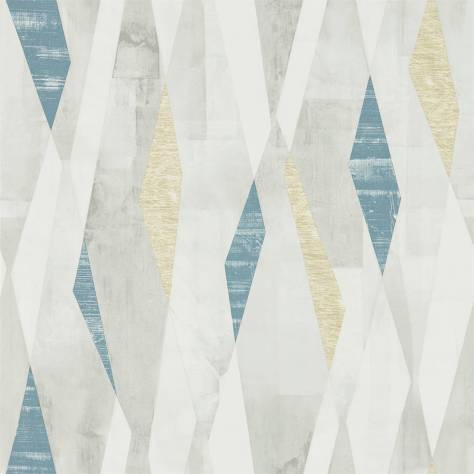 Harlequin Entity Wallpaper Vertices Wallpaper - Ink/Gold - 111704