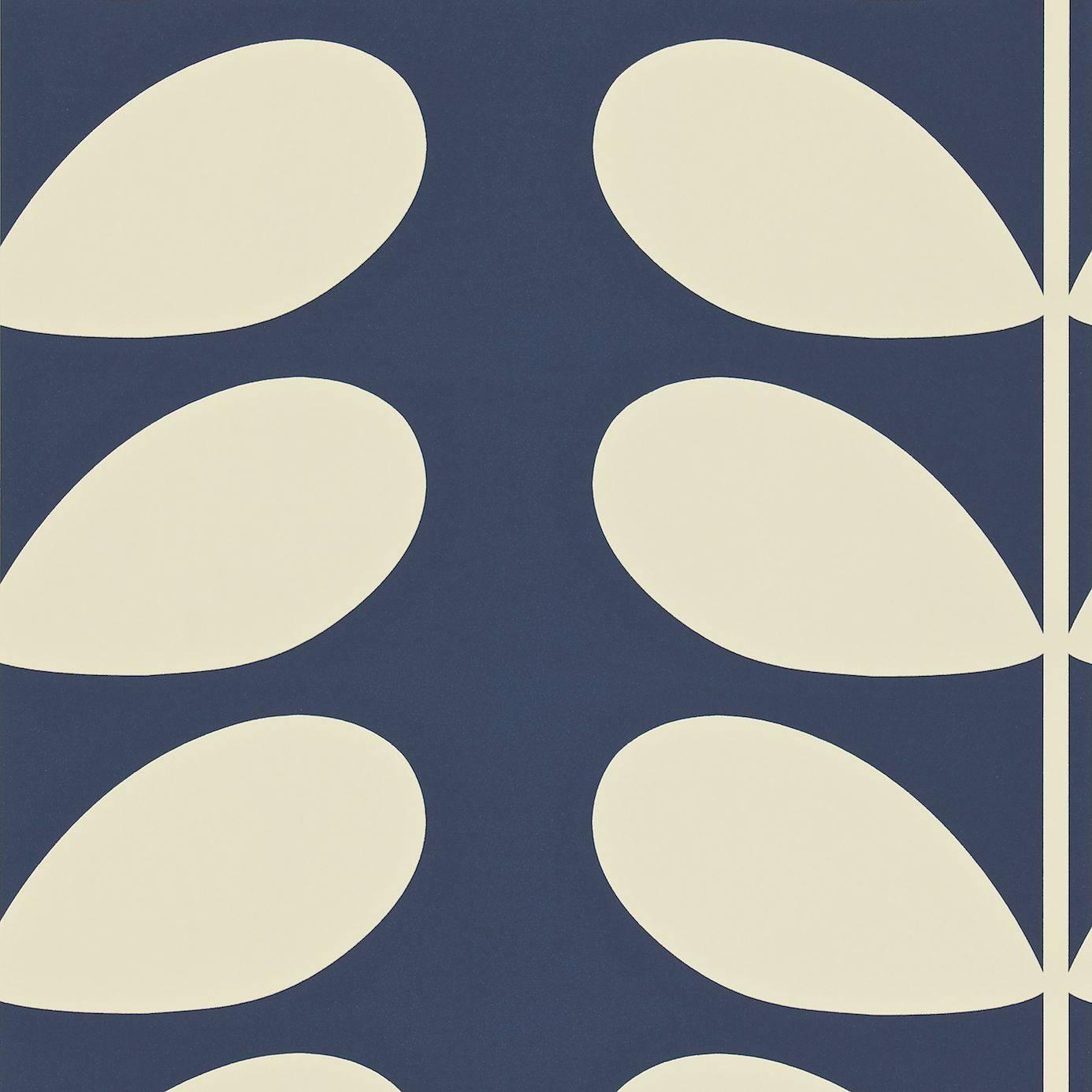 Harlequin Giant Stem Wallpaper Midnight Blueproduct Code 110393