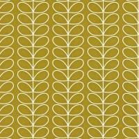 Linear Stem Wallpaper - Olive