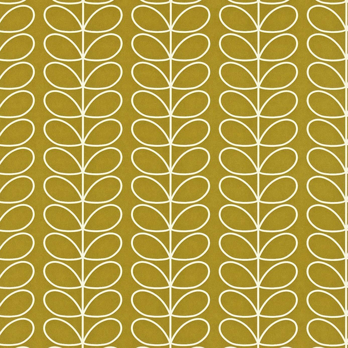 Harlequin Linear Stem Wallpaper Oliveproduct Code 110401