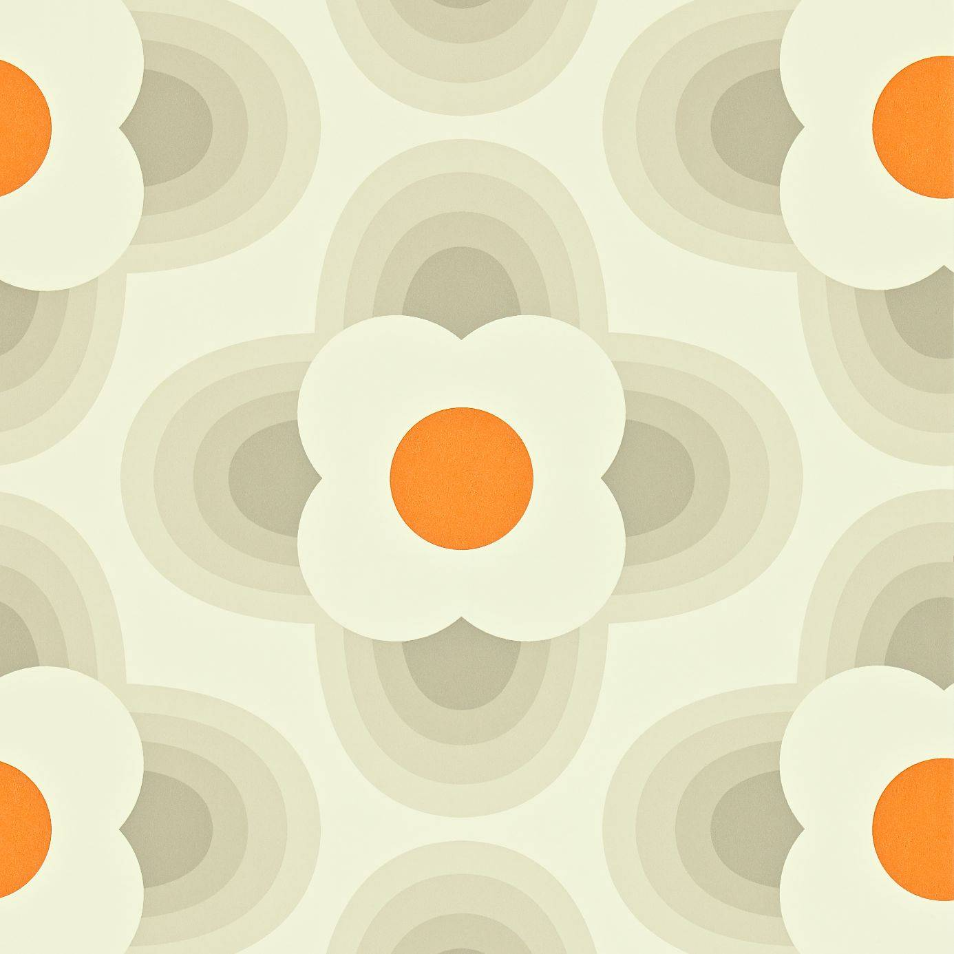 striped petal wallpaper fog 110403 harlequin orla kiely wallpapers collection. Black Bedroom Furniture Sets. Home Design Ideas