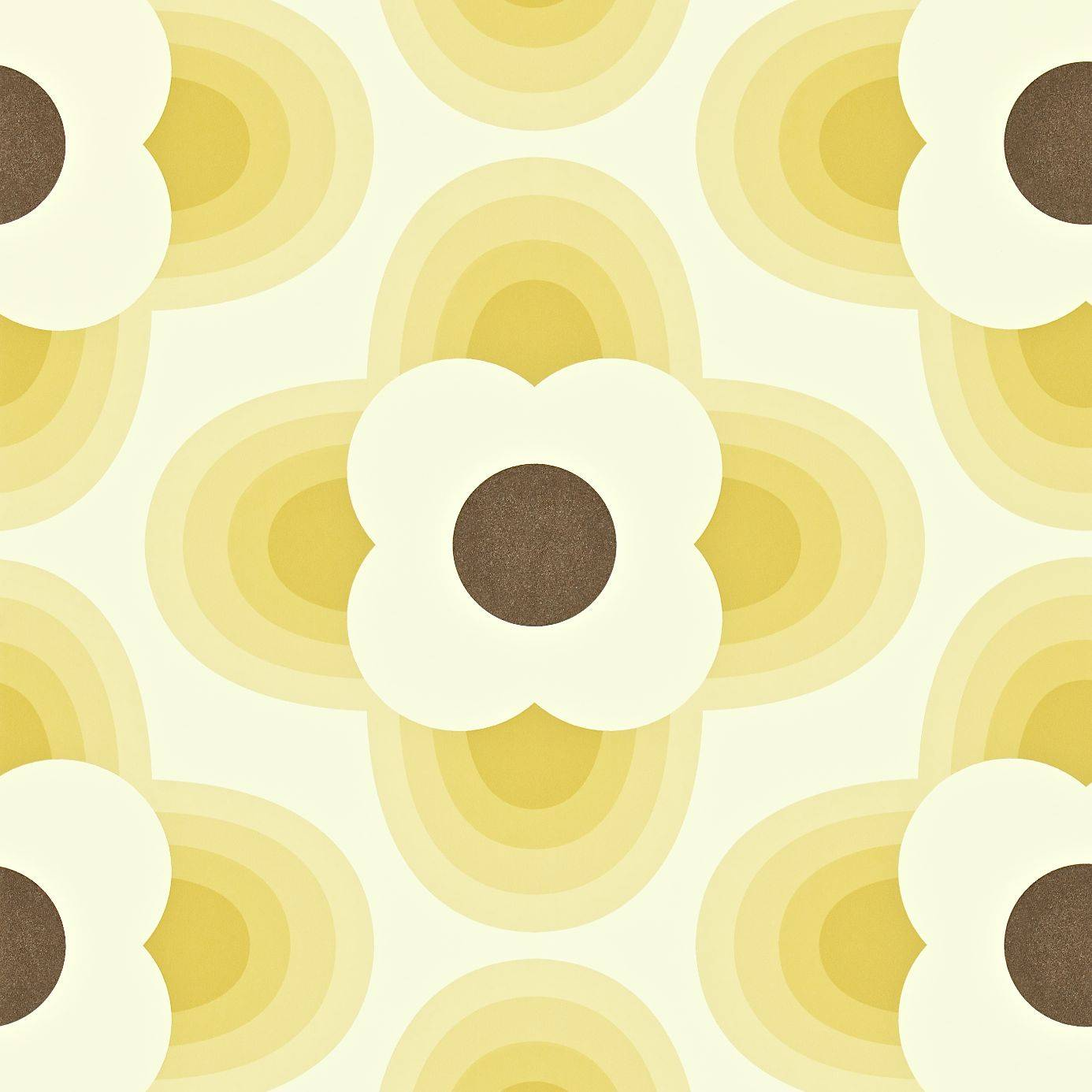 striped petal wallpaper straw 110405 harlequin orla kiely wallpapers collection. Black Bedroom Furniture Sets. Home Design Ideas