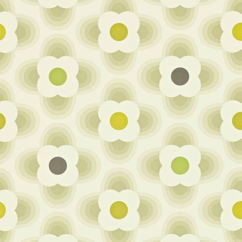 Harlequin Orla Kiely Wallpapers Multi Striped Petal Wallpaper - Cool Stone - 110407