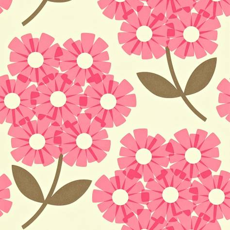Harlequin Orla Kiely Wallpapers Giant Rhododendron Wallpaper - Honeysuckle - 110410