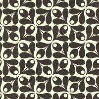 Small Acorn Cup Wallpaper - Ebony