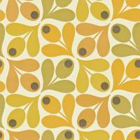 Multi Acorn Spot Wallpaper - Saffron