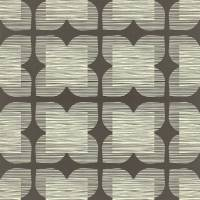 Flower Tile Wallpaper - Graphite