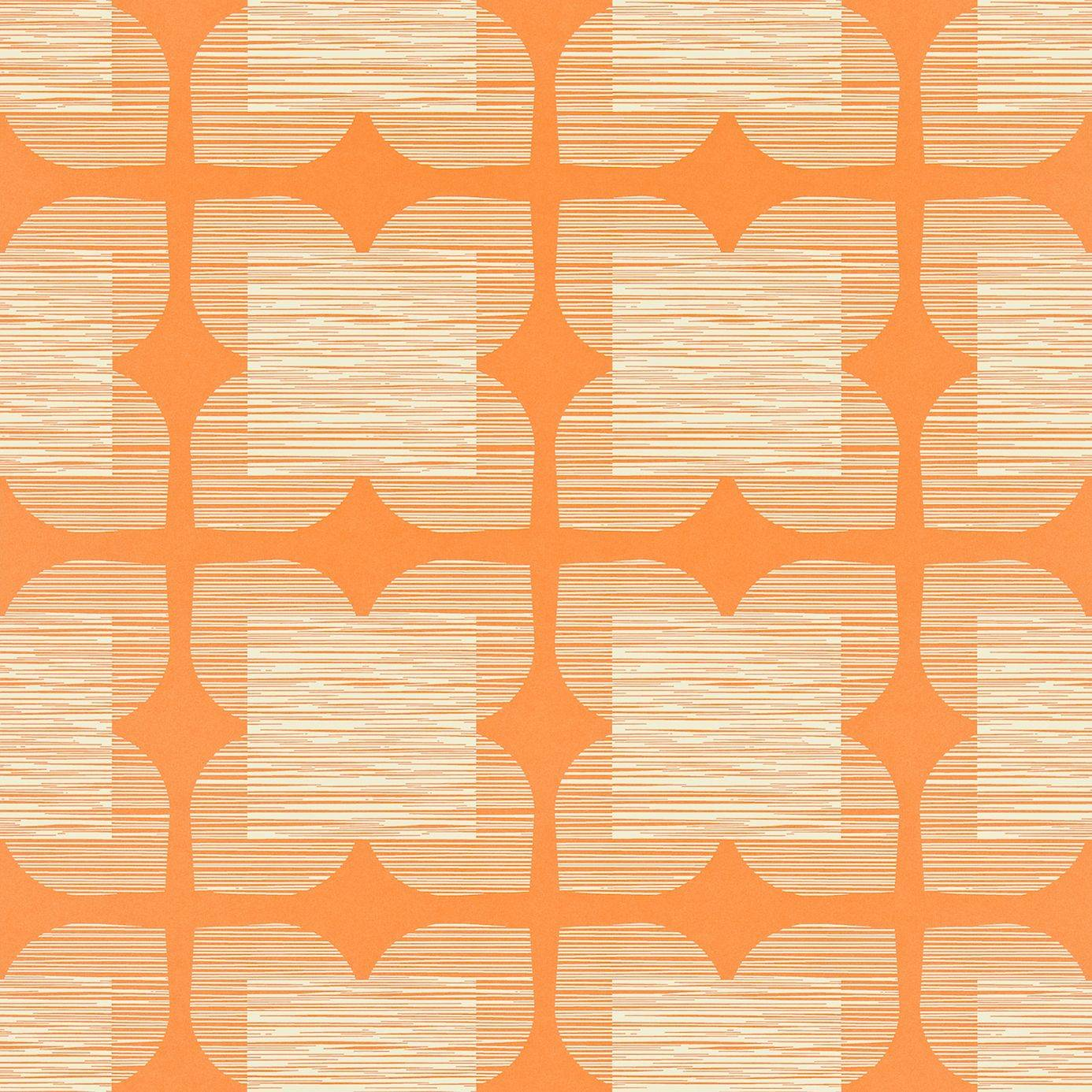 flower tile wallpaper clementine 110422 harlequin orla kiely wallpapers collection. Black Bedroom Furniture Sets. Home Design Ideas