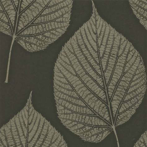 Harlequin Momentum Wallpapers Vol. 2 Leaf Wallpaper - Onyx/Hemp - 110372/110971
