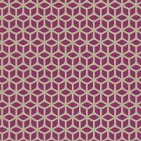 Trellis Wallpaper - Magenta