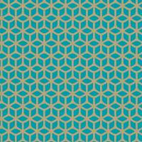Trellis Wallpaper - Teal