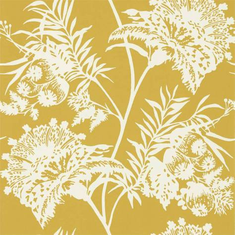Harlequin Zapara Wallpapers Bavero Wallpaper - Ochre - 111764