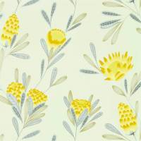 Cayo Wallpaper - Ochre/Linen
