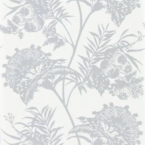Harlequin Zapara Wallpapers Bavero Shimmer Wallpaper - Silver - 111778