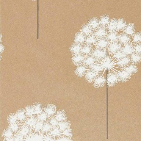 Harlequin Paloma Wallpapers Amity Wallpaper - Brass/Pewter - 111913