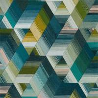 Arccos Wallpaper - Emerald Blush