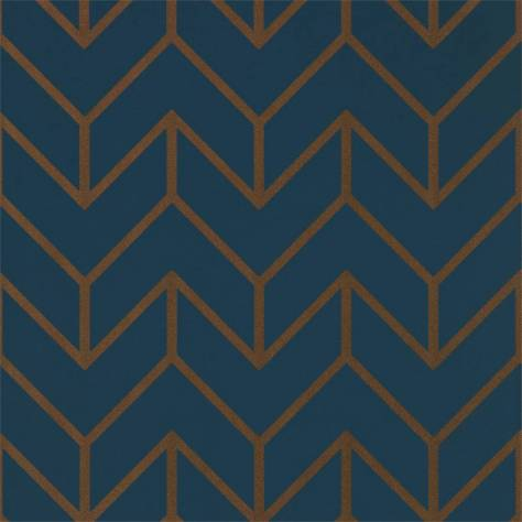 Harlequin Momentum Wallpapers Vol. 5 Tessellation Wallpaper - Marine Copper - 111986