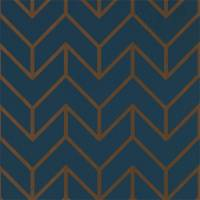 Tessellation Wallpaper - Marine Copper