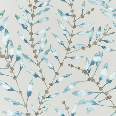 Harlequin Anthozoa Wallpapers Chaconia Wallpaper - Marine / Emerald - 111635