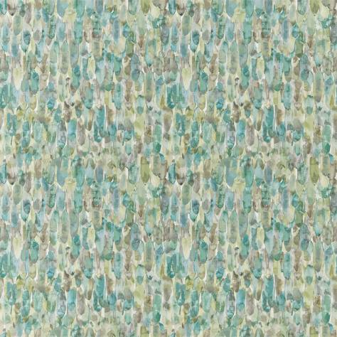 Harlequin Anthozoa Wallpapers Kelambu Wallpaper - Emerald / Lime - 111665