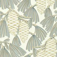 Foxley Wallpaper - Platinum / Gold