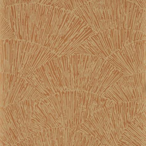 Harlequin Momentum Wallpapers Vol. 6 Tessen Wallpaper - Copper - 112179