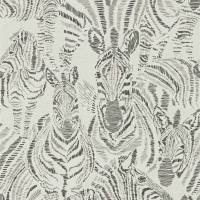 Nirmala Wallpaper - Chalk / Ebony