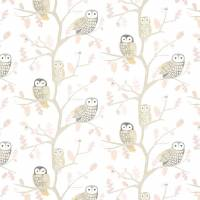 Little Owls Wallpaper - Kiwi