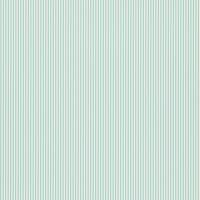 Tickety Boo Wallpaper - Turquoise/White